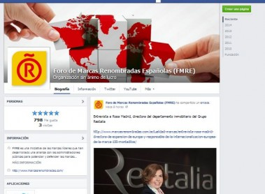 The Leading Brands of Spain Forum is now on Facebook