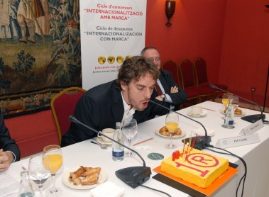 Internacionalization with brand: Pau Gasol