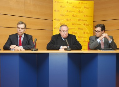 "Conference about ""Economic perspectives in the Euro Zone"" at Crédito y Caución HQ's"