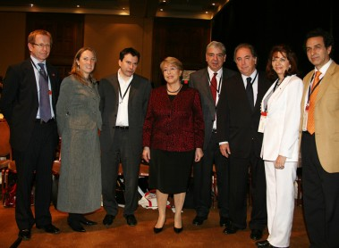 Miguel Otero participates in the international seminar on nation branding in Santiago, Chile