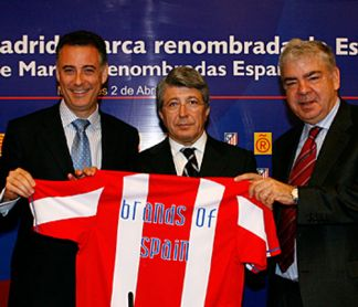 The Atlético de Madrid Club gathered to celebrate its entry in the Leading Brands of Spain Forum
