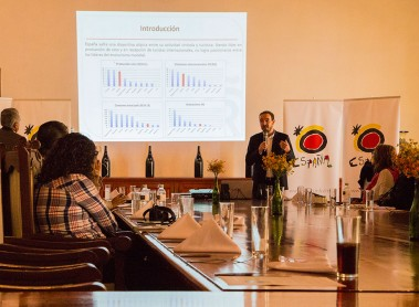 Spain presents, in Querétaro, the first prototype for wine tourism developed with the World Tourism Organisation