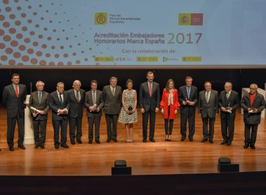The King and Queen of Spain Deliver Accreditations for the Spain Brand Honorary Ambassadors